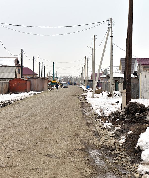 В Хакасии идет весенний сезон дорожных работ