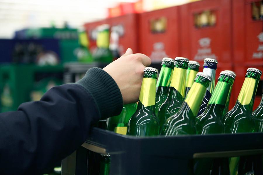 Продажа пива с нового года 2017