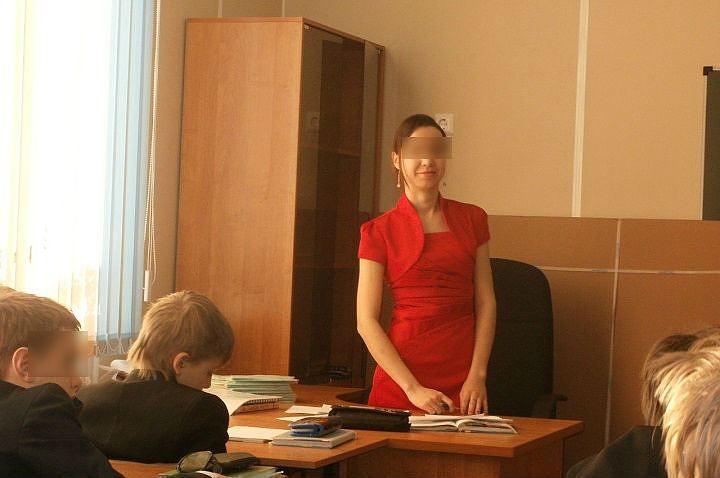 Русское учительницей